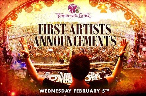 Primeros artistas anunciados Tomorrowland 2014 #AhNoMame