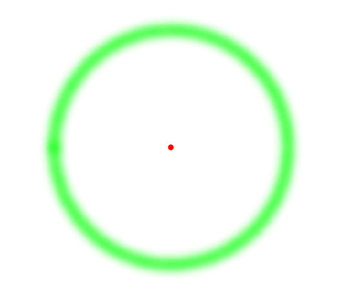 Punto Rojo Círculo Verde (Efectos Ópticos) #AhNoMame